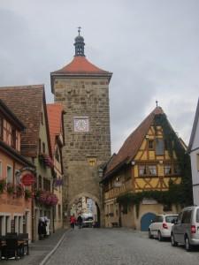 Stadspoort Rothenburg o/d Tauber